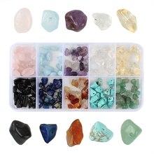 Irregular Chips Stones Crushed Gemstone Beads DIY Crafts Earring Bracelet Accessories Combination  Healing Power