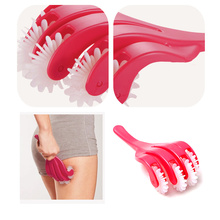 Hip Massager Sexy Hip lift Slimming 32 Claw Massage Roller Relax Body Massager Leg Trainer Anti Cell