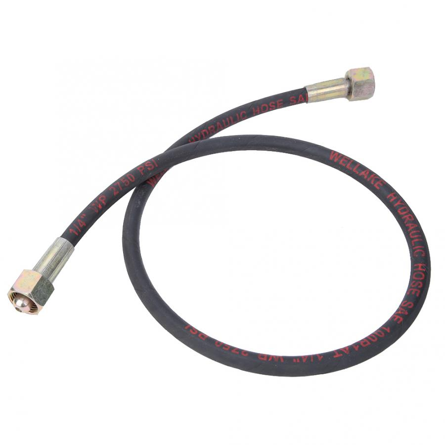 Argon//Carbon Dioxide//Oxygen High Pressure Hydraulic Hose Pipe 1m for Cylinders Suitable for Argon Gas Oxygen and Carbon Dioxide Hydraulic Hose