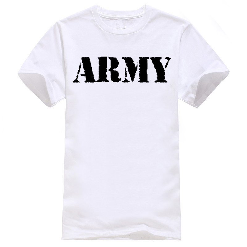 Army Military US British Surplus T-shirt Vest Men Women Unisex 1991 summer o neck tee, free shipping cheap tee(China)