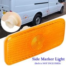 купить Car Amber Side Marker Light Lamp Lens Plastic Replace For Ford Transit MK7 MK6 дешево