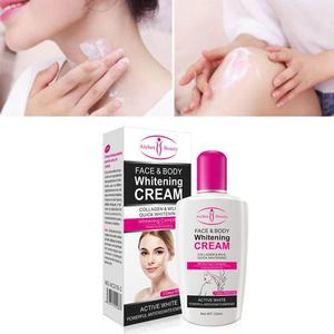 Beauty Face Body Whitening Cream Between Legs Knees Private Parts Safe Formula Armpit Whitening Cream Skin Care Lotion(China)