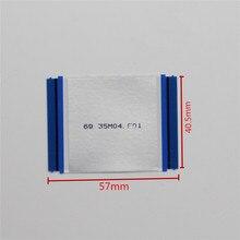 Esnek kablolar 80 Pin 100% orijinal için esnek kablolar TCON kartı 57mm X 40.5mm kilitli düz şerit TV mantık kurulu LCD ekran