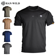 T-Shirts Tactical Special-Arms Military Outdoor Cotton Men Tee Short-Sleeves Loose Hiking