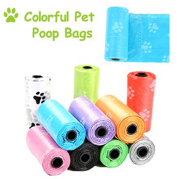 Pet Dog torebki na odchody zwierzęce dozownik kolektor Scoop Holder Puppy Cat szufelka do sprzątania psich odchodów torba małe rolki Outdoor Clean zaopatrzenie dla zwierząt domowych tanie i dobre opinie Pooper Scoopers i Torby Pet Dog Cat Poop Bag Pet Dog Cat Poop Bag PD047