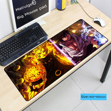 Naruto Anime Pad To Mouse Notbook Computer Large Lock Edge Mousepad Gaming Padmo