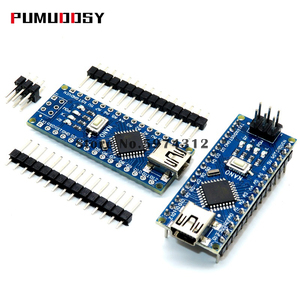 Nano с Загрузчиком совместимый контроллер Nano 3, 0 Для arduino CH340 USB драйвера 16 МГц Nano v3.0 ATMEGA328P/ATMEGA168 PA-AU