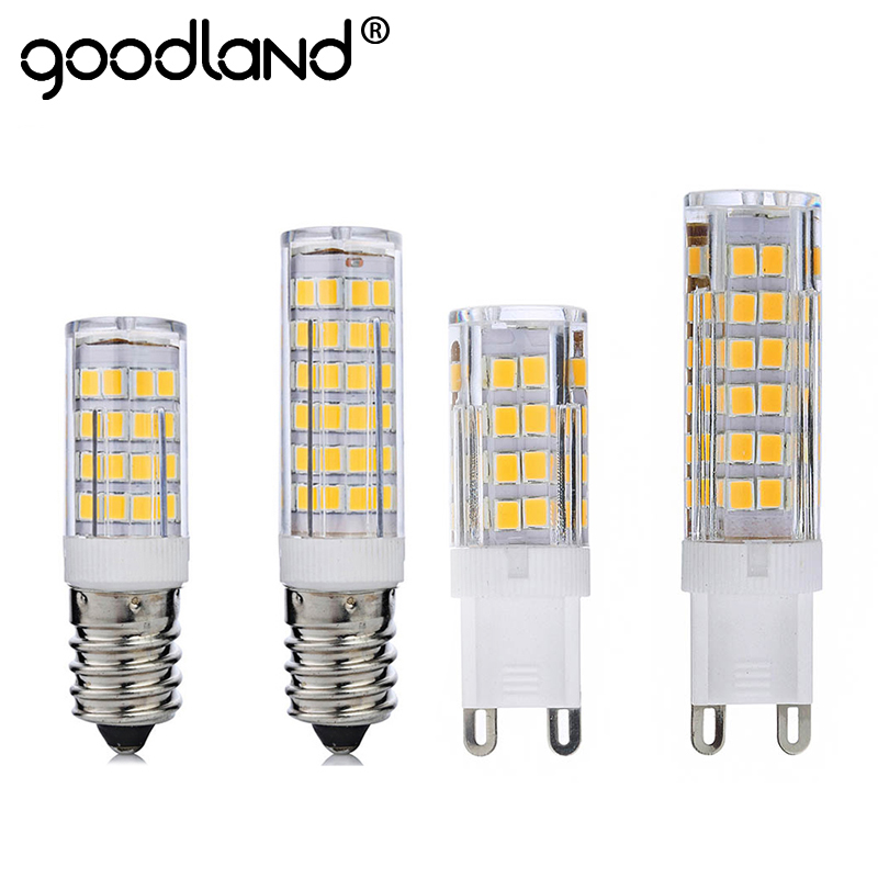 Goodland G9 LED Lamp 220V E14 LED Bulb Corn Light 5W 7W Super Bright Pendant Light Replace Halogen Chandelier Lamp Ampoule LED