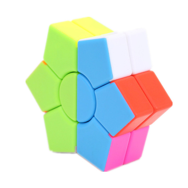 Jiehui Hexagram two-layer Square Hexagon Speed Magic Cube Twist Puzzle Educational Colorful Puzzle Professional 3