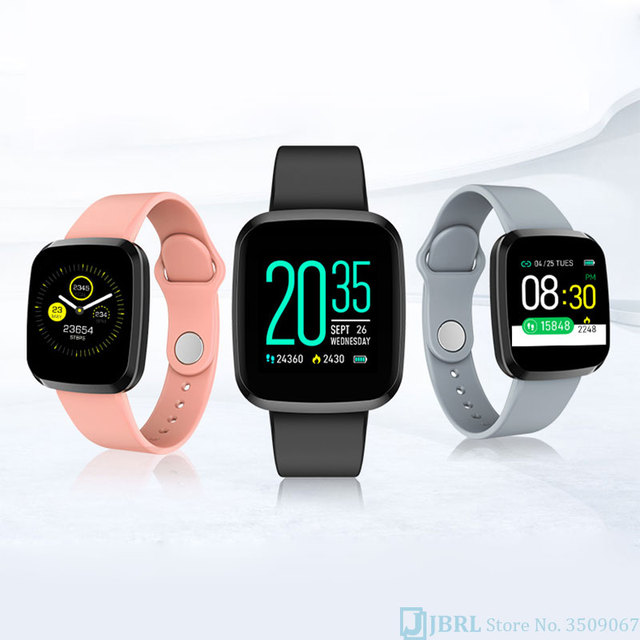 New Smartwatch For Android IOS Fitness Tracker Silicone 5