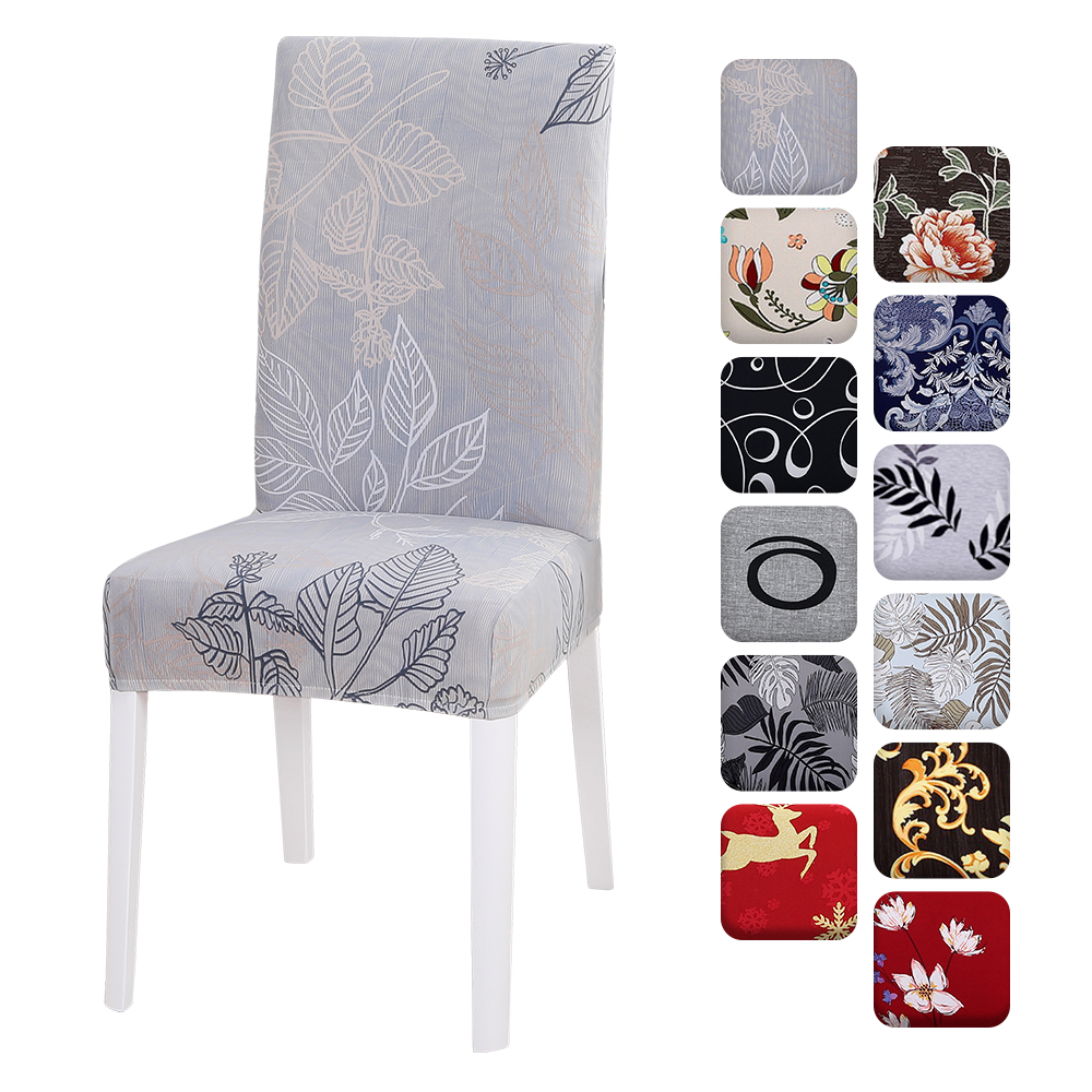 4pcs Chair Covers Dining Room Chair Protector Slipcovers Christmas Decoration