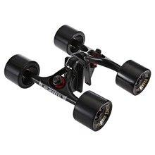 PUENTE 2 unids/set monopatín camión con 70x51mm Skate de almohadilla vertical teniendo accesorios de Hardware instalar herramienta para monopatín
