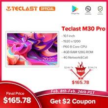 Teclast M30 Pro 10.1 Cal Tablet P60 8 rdzeń 4GB RAM 128GB ROM Android 10 tablety PC 1920x1200 IPS 4G połączenie podwójna karta Wifi GPS