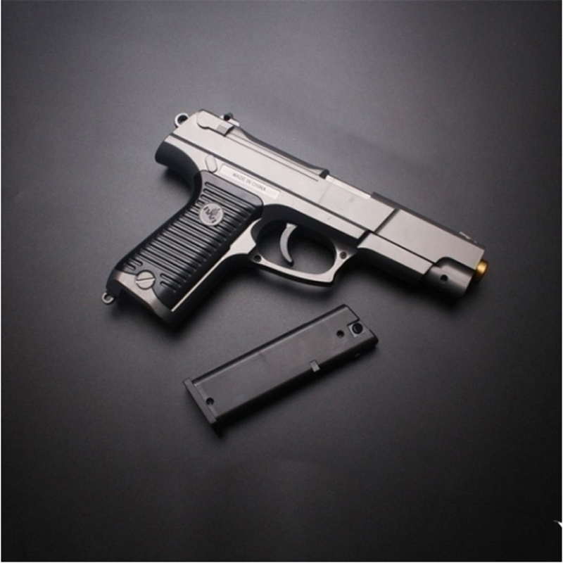 2020 New Childrens' Toys Bottom Supply Water Pistol Pistol Manually Loaded Single Shot Crystal Bullet Child Toy Gun Kids Gifts