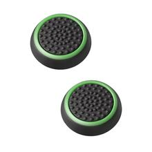 Double Rocker Enhanced Raised Silicone Rubber Analog Stick Thumb Grips Joystick Cover Caps For Playstation 4 PS4 PS3 XBOX One(China)