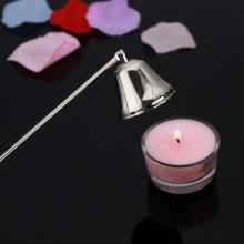 New 1PC Stainless Steel Candle Aromatherapy Wick Trimmer Oil Lamp Trim scissor Fire Extinguish Cutter Snuffer Tool Hook Clipper