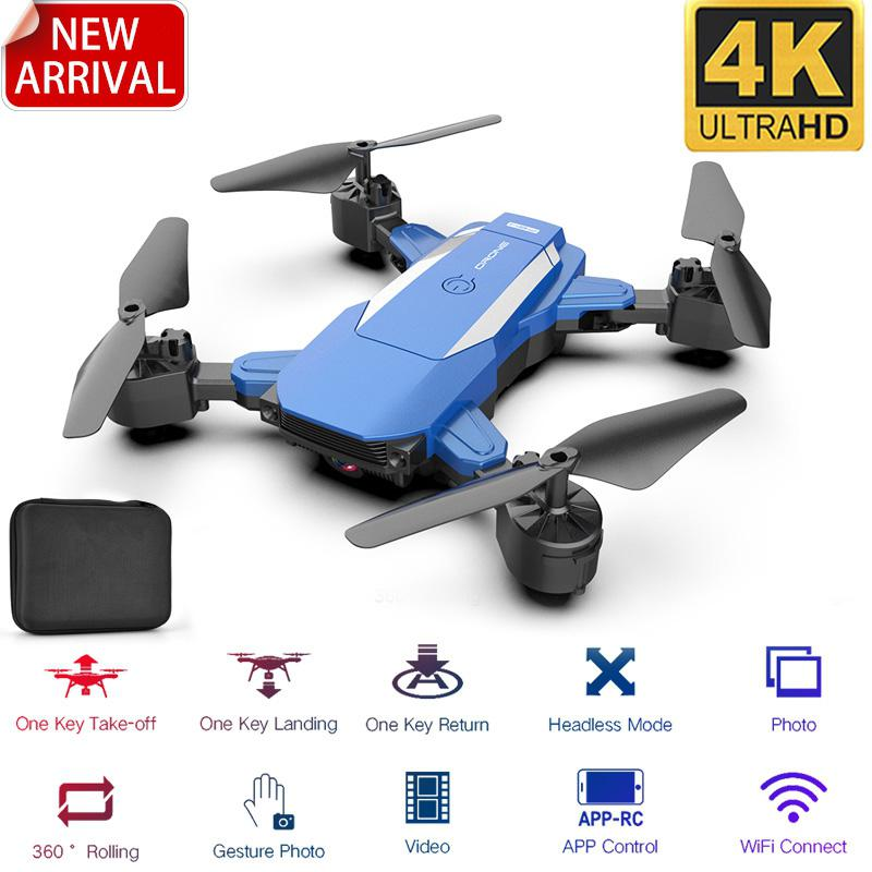 RCtown F84 Quadcopter Wireless RC Drone With 4K/5MP/0.3MP HD Camera WiFi FPV Helicopter Foldable Airplane For Children Gift Toy
