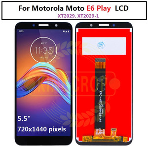 Image 4 - Pantalla LCD para Motorola Moto E6s E6 Play E6 Plus, Sensor de ensamblaje de digitalizador con pantalla táctil para moto E6 Plus E6 E6S LCD con marco