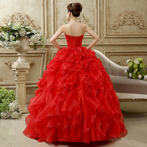 Image 3 - Ruched Strapless Quinceanera Dress With Beaded Bodice Vestido 15 Anos Vestido De Debutante