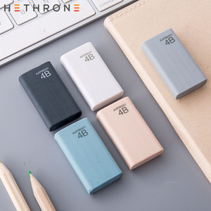 Hethrone Colored Student Professional Examination Art Drawing Eraser Pencil Eraser Creative 4B Rubber Eraser Papelaria Gift For(China)