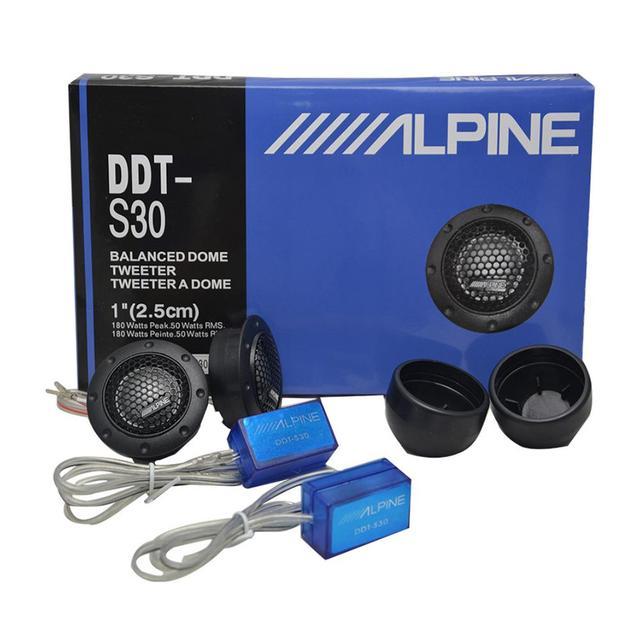 2Pcs/set Tweeter Car Audio Silk Film For Car Modification 180W 4Ohm High-Pitched Audio Loudspeaker Car Audio Modification