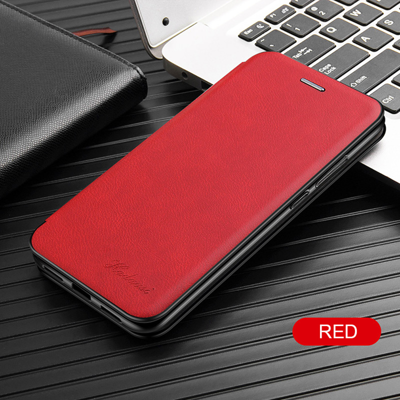 Leather Flip Case For Samsung Galaxy a10 a20 a30 a40 a50 a70 s8 s9 s10 note 10 plus s20 21