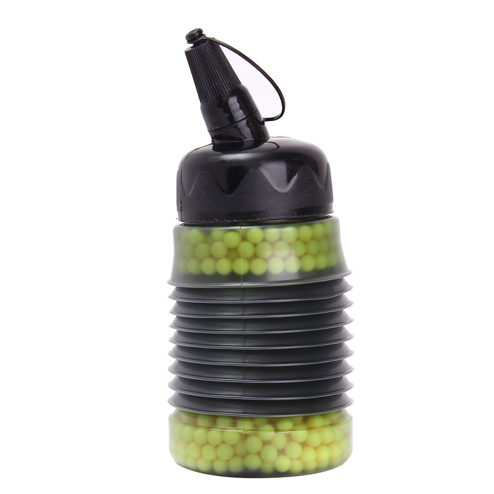 BB Loader Expandable Bottle 2300rds Outdoor Shooting Hunting Combat Tactical Tool Airsoft Speed Loader Expandable Bottle