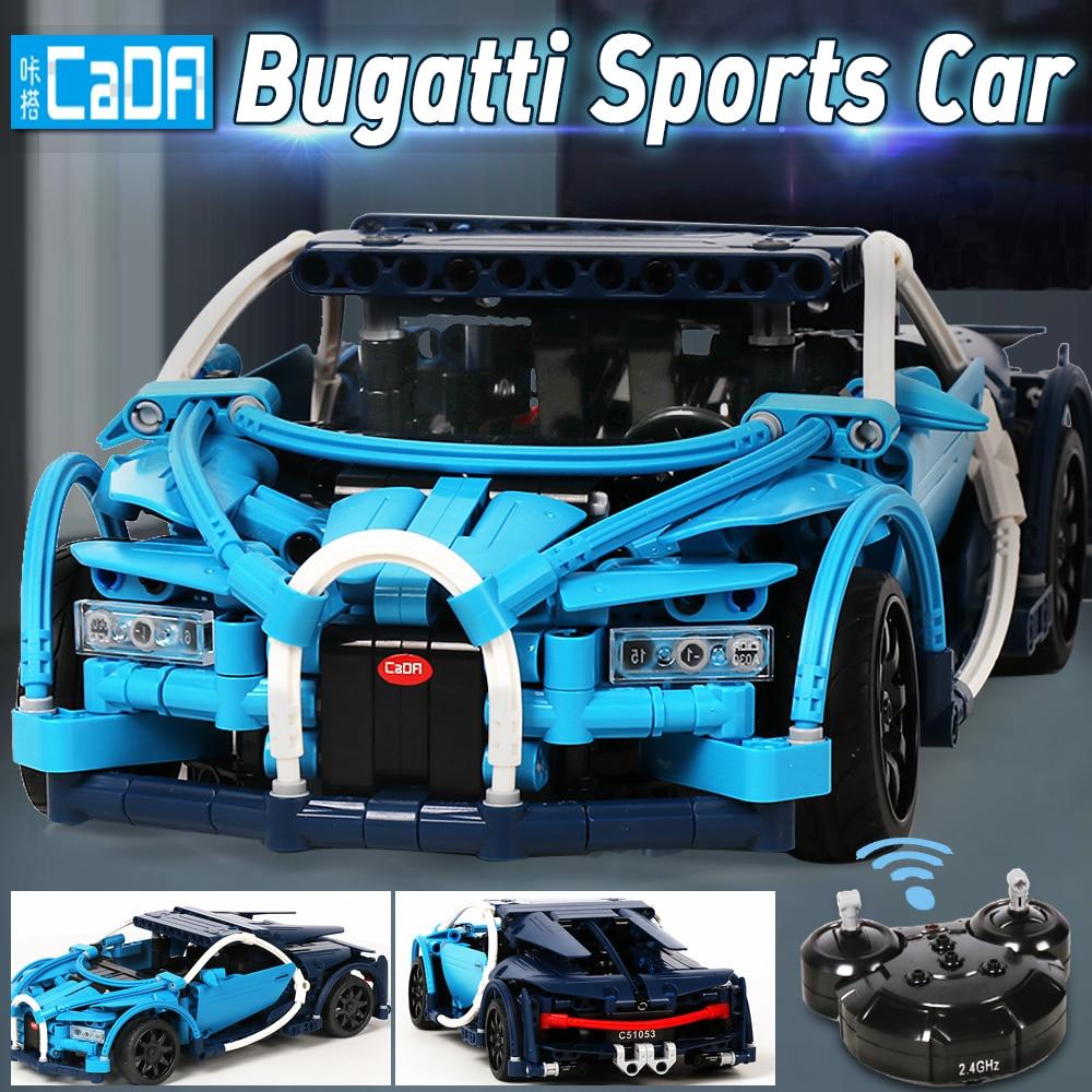 legoed bugatti chiron legoed technic car building blocks toy bricks model building rc remote control car technical toys for boys-in Blocks from Toys & Hobbies