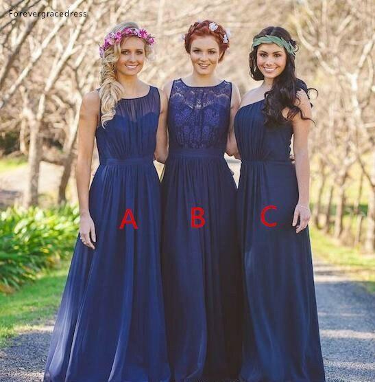 2019 летнее весеннее платье подружки невесты Королевское синее пляжное платье для сада, формальные пригласительные на свадьбу, платье для по
