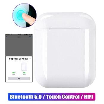 I12 Mini TWS Touch Bluetooth 5,0 наушники всплывающие ups 3D стерео гарнитура настоящие беспроводные наушники для Apple iphone samsung sony Xiaomi >> SGP Hybrid Official Store