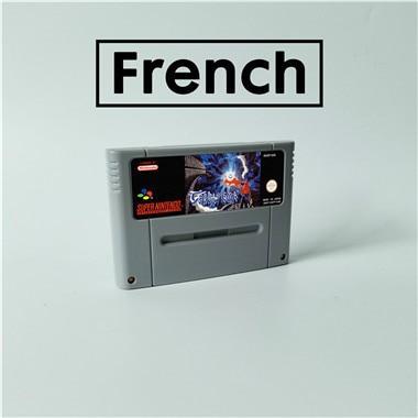 Terranigma   French Language   RPG Game Card EUR Version English Language Battery Save