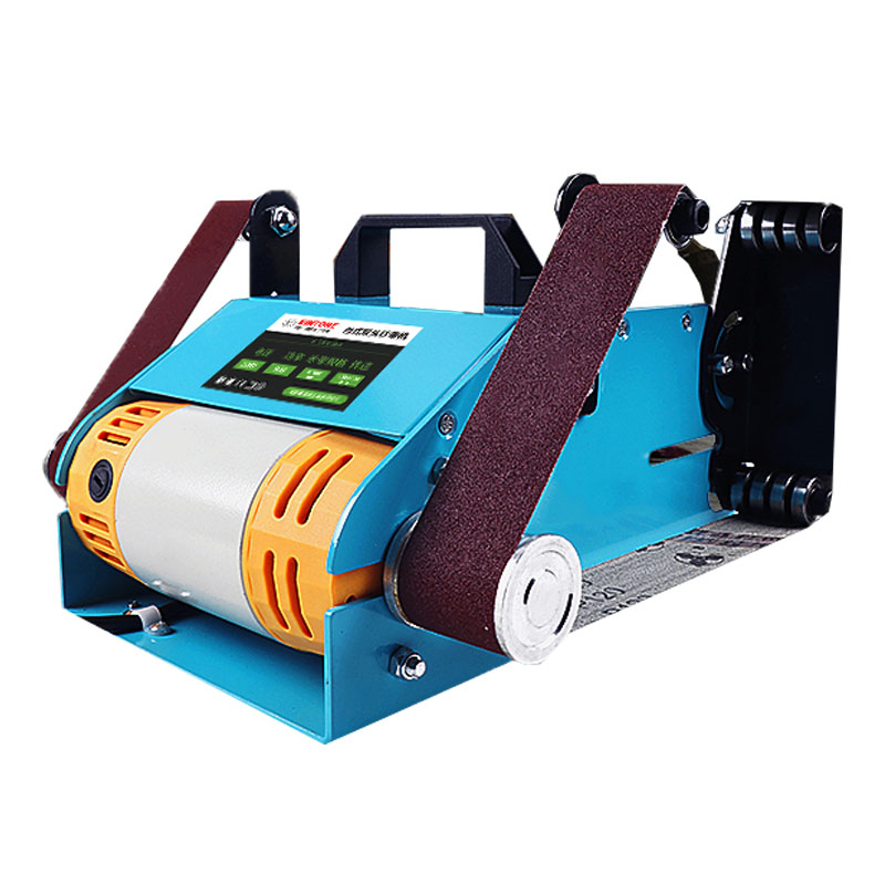 Double-head Shaft Belt Machine Small Grinding Knife Micro Table 220V Woodworking Jade Metal Polishing Machine Grinding Machine