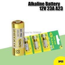 3 ピース/ロットアルカリバッテリー 12 v 23A 23GA 21/23 A23 A23S E23A EL12 MN21 MS21 V23GA MN21 L1028 RV08 GP23A k23A ためドアベルリモート