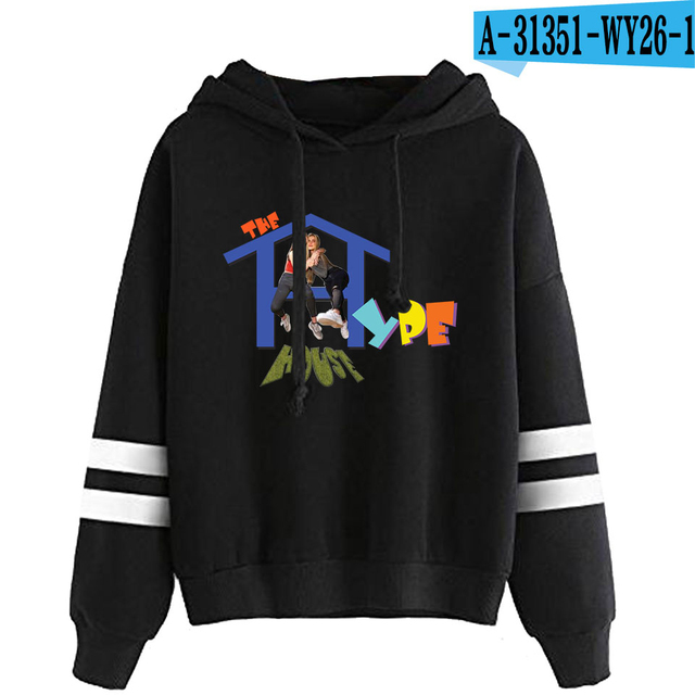 THE HYPE HOUSE STRIPED HOODIE (25 VARIAN)