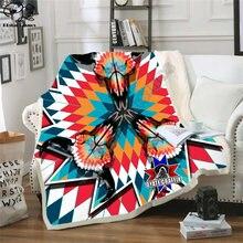 Oyate graffix Звездное Флисовое одеяло плюшевое 3d печатное
