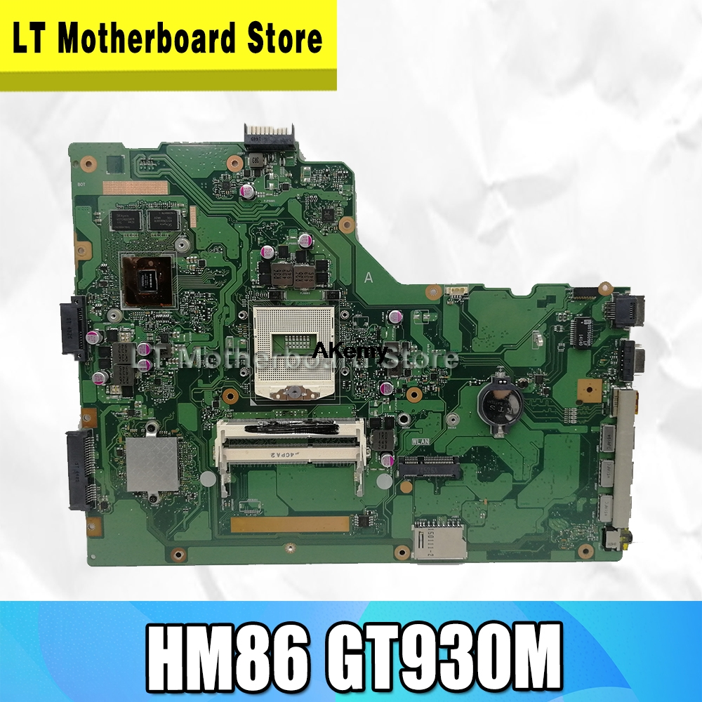 P751JF Laptop Motherboard For ASUS P751 P751J P751JF Motherboard HM86 GT930M GPU Mainboard 100% Test Ok image