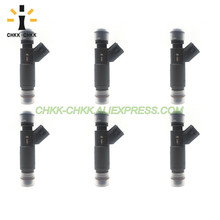 CHKK-CHKK NEW Car Accessory 2F1E-A2A 195500-4260 Renovation fuel injector for FORD&MERCURY TAURUS / SABLE 2002~2003 3.0L V6 DOHC