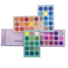 Pallete Palett Pigment Shadows Glitter Highlighter Shimmer Make-Up Beauty Glazed Matte