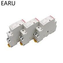 Modular Rail-Mounted Ac Contactor 2no 2nc Smart-Home-House Household 230V Din 2P 1NC