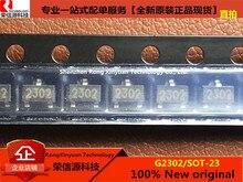 50 개/몫 G2302 2302 SOT 23 20V,85mΩ,3.2A N CHANNEL 향상 모드 전력 MOSFET 100% 새로운 원본