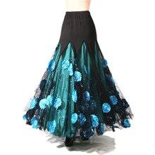 Luxurious Women Bellydance Costume Skirts  Ballroom Dancing Gypsy Skirt Belly Dance Waltz Indian Oriental