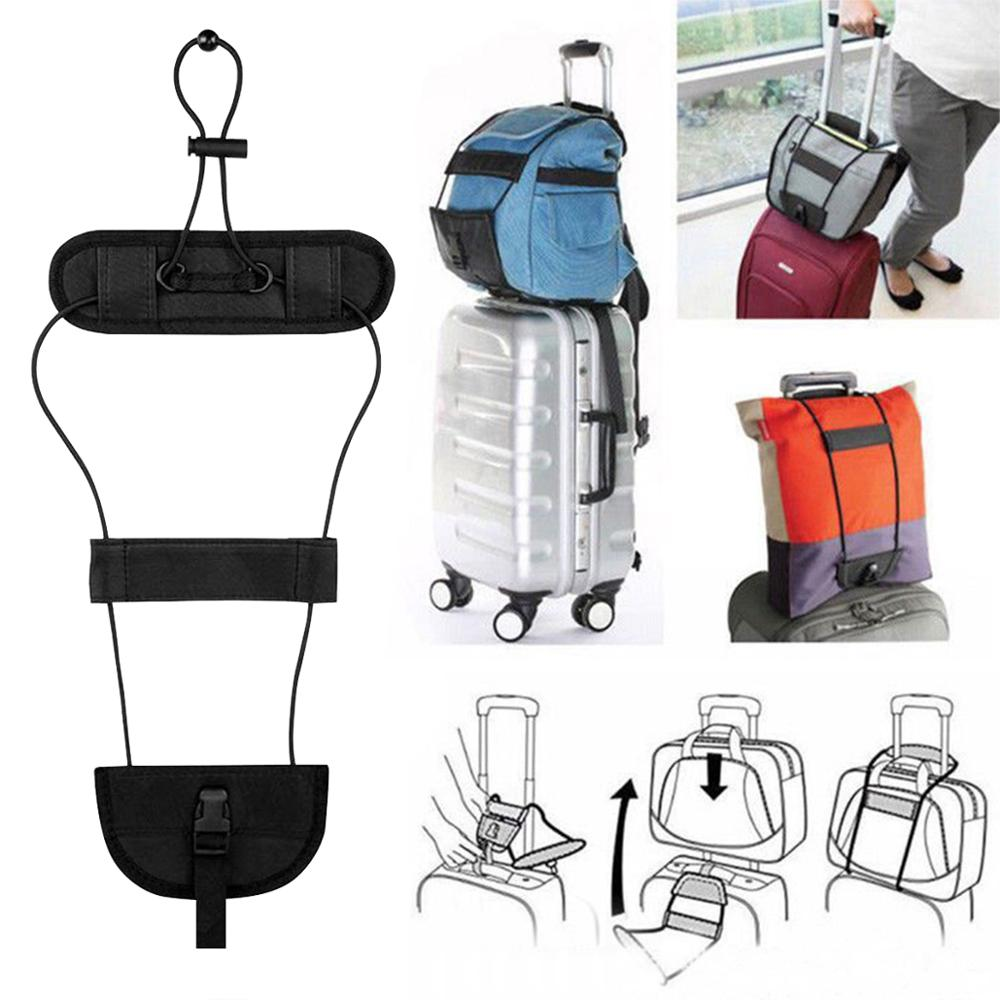 Elastic Telescopic Luggage Strap Travel Bag Parts Suitcase Fixed Belt Trolley Adjustable Security Accessories Supplies