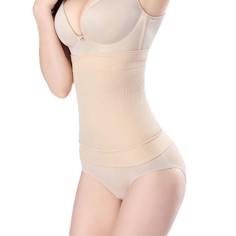 Seamless Body Shapers Girdle Waist Trainer Corset Belt Sexy Shapewear Female Postpartum Bodysuits Lingerie #F