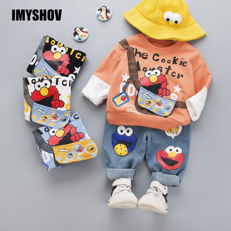 IMYSHOV Toddler Baby Boy Girl Clothes Sets Boys Girls Clothing Outfits Boutique Korean Kids Outfit Children Costume Suit For Yrs
