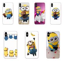 Coque Shell Phone Case For Huawei Honor 4C 5A 5C 5X 6 6A 6X 7 7A 7C 7X 8 8C 8S 9 10 10i 20 20i Lite Pro Women Men Cute Minions(China)