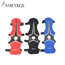 Archery  Arm Guard Protection Forearm Safe Adjustable Bow Arrow Hunting Shooting Training Accessories mayitr black 4 adjustable straps archery arm guard shooting bow string arm protector gear for hunting training protection