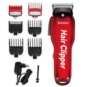 Image 1 - Cortadora de pelo profesional para peluquero, cortadora de pelo eléctrica, inalámbrica, mágica, para Barba, potente herramienta para hombres