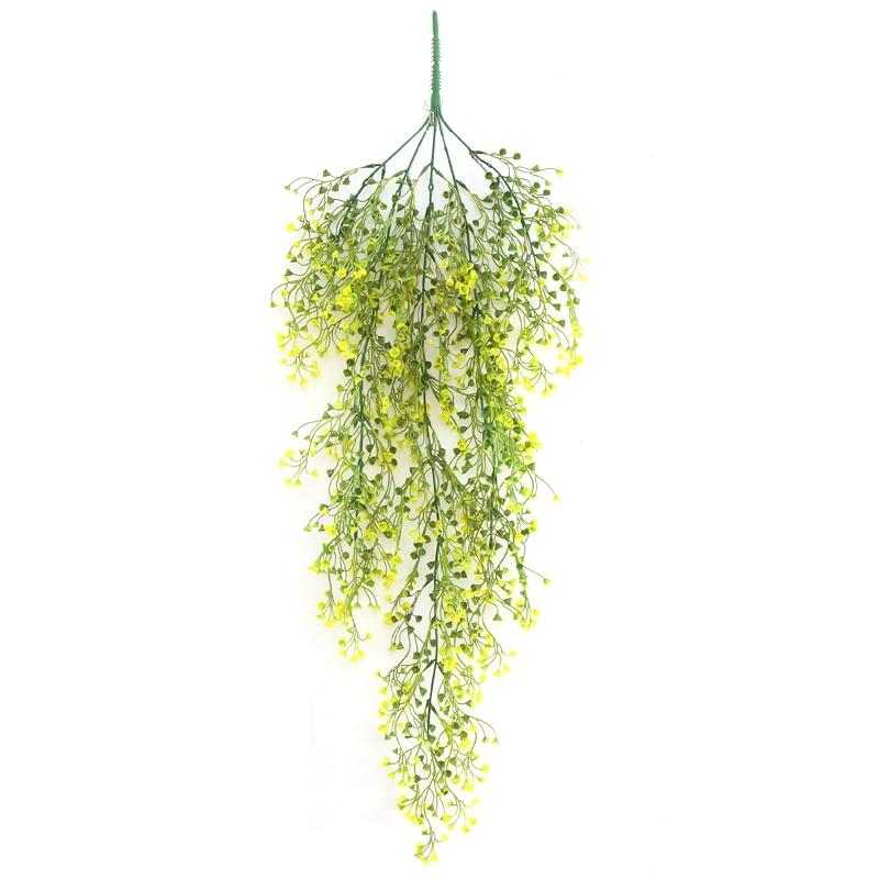80cm Flower String Artificial Wisteria Vine Garland Plants Foliage Fake Flower Artificial Silk Trailing Vine Flower Plant Garlan