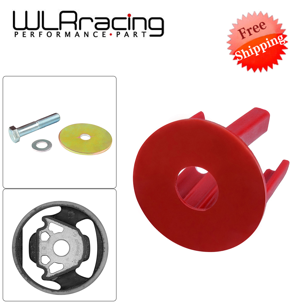 FREE SHIPPING- Engineering Dog Bone Engine Mount Insert Kit Street Fits FOR VW CC 09 + 2.0 TSI COLOR RED WLR-EMI01
