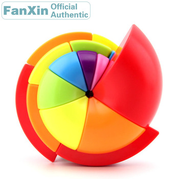 FanXin Nautilus Magic Cube Parrot Spiral Shell Snail Screw Speed Puzzle Twisty Brain Teaser Antistress Educational Toys For Kids helen brain elevation 3 the fiery spiral